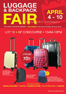 Isetan Luggage & Backpack Fair 2017