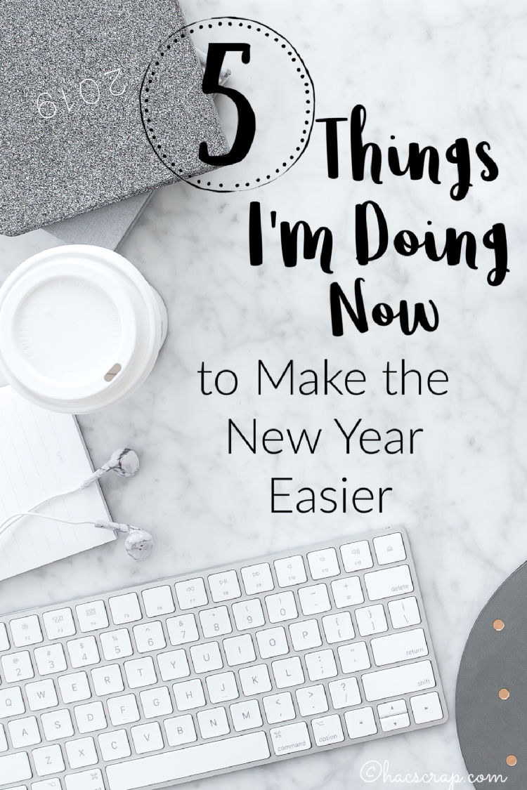 Five tips for New Year Planning