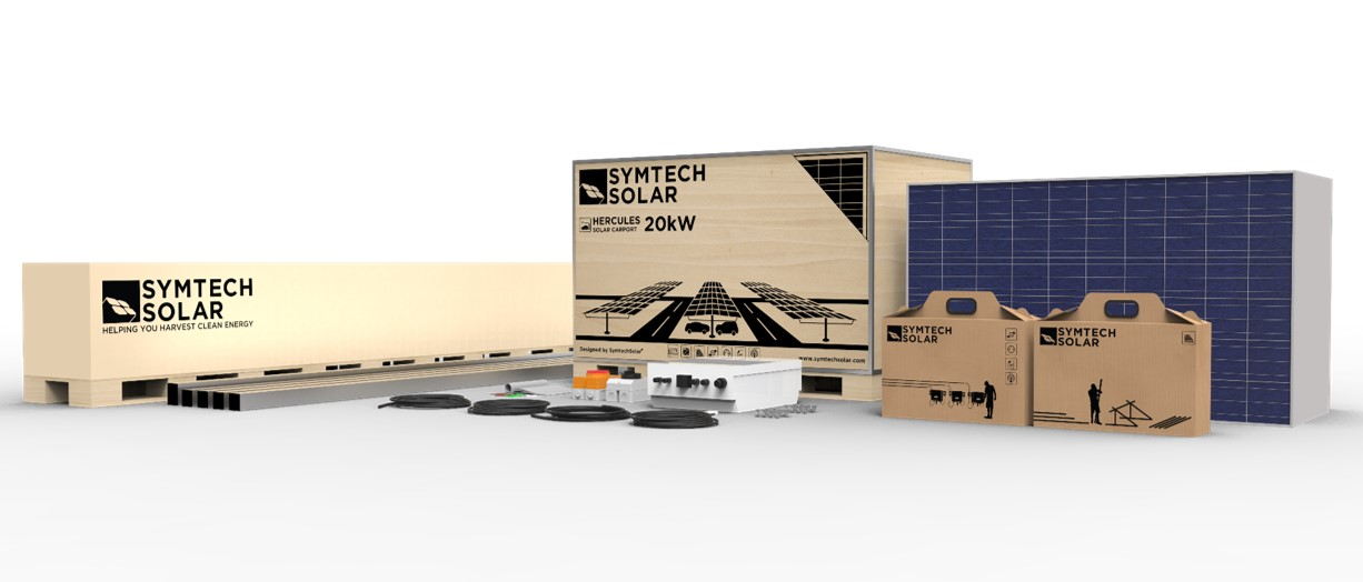 HERCULES On Grid Solar Carport Kits