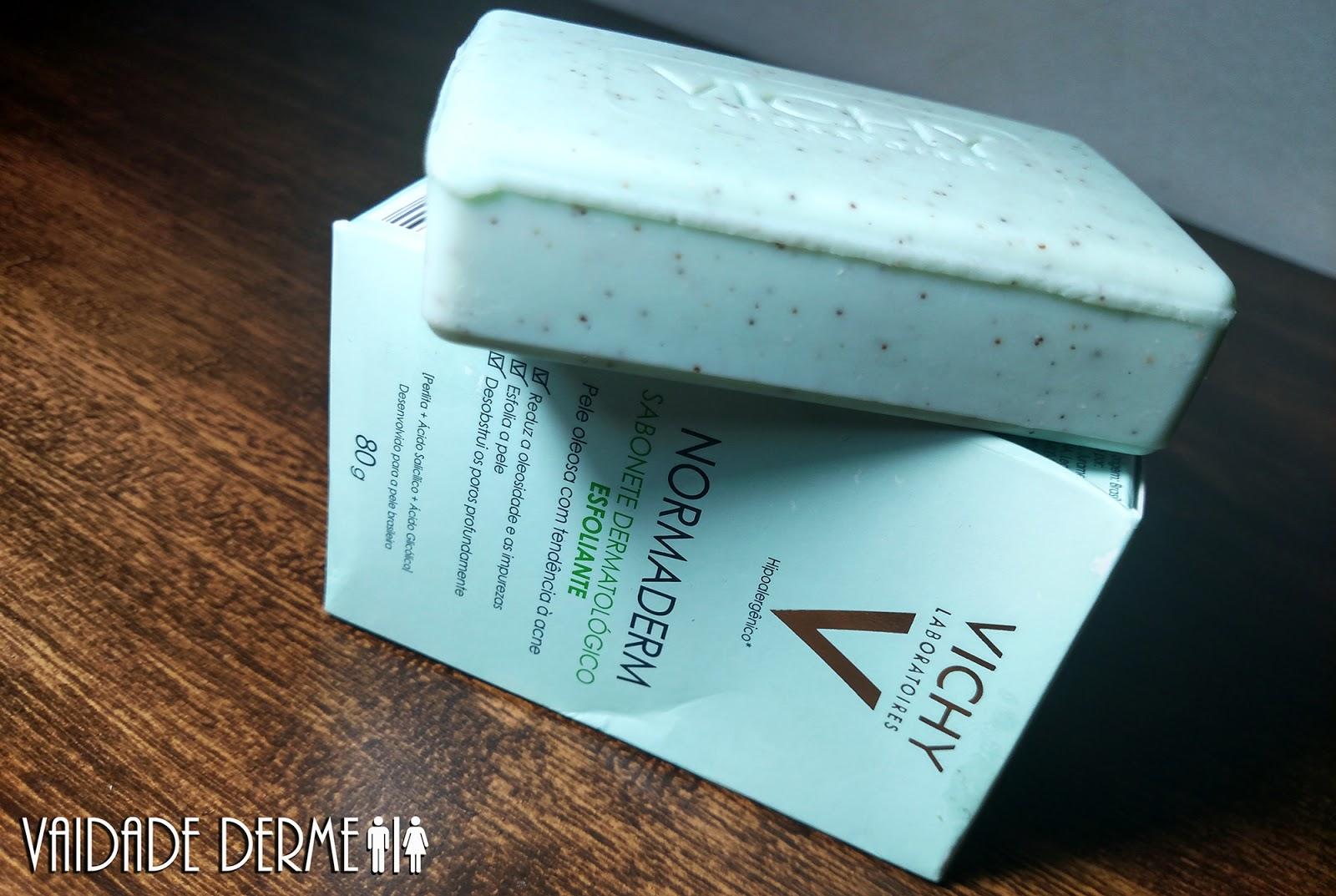 Vichy Normaderm Sabonete Esfoliante