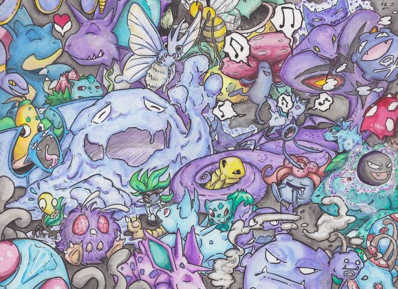 tipo poison veneno pokémon blast news