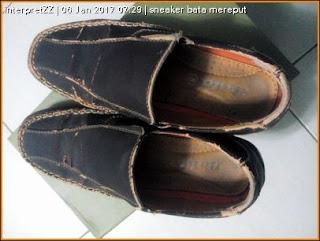 rekaan luar kasut loffer dari Bata Malaysia