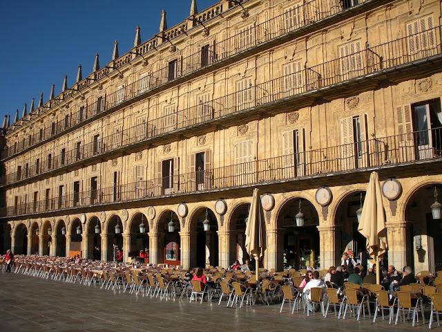 Plaza Mayor; Salamanca; Castilla y León; Vía de la Plata