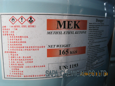 Methyl Ethyl Ketone, MEK