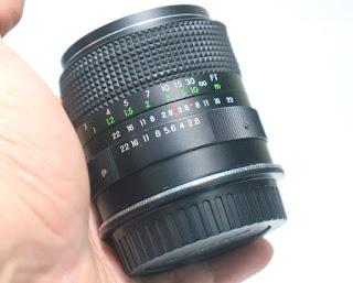 Lensa yashica 35mm f2.8 + Mountung Canon