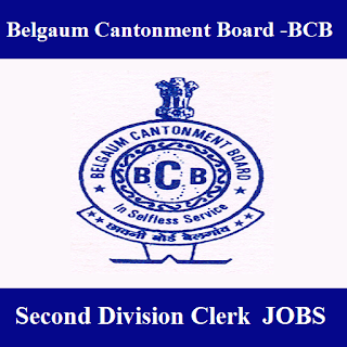 Cantonment Board Belgaum, BCB Ministry of Defence, Government of India, Karnataka, Clerk, 12th, freejobalert, Sarkari Naukri, Latest Jobs, cb belgaum logo