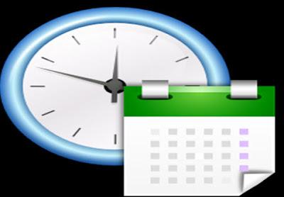 معرفة الوقت و التاريخ باستخدام المفكرة ( TXT )