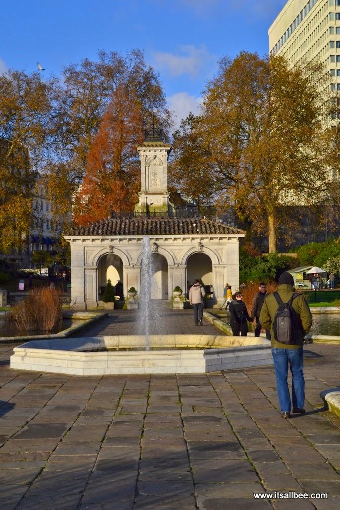 Italian Gardens - Hyde Park