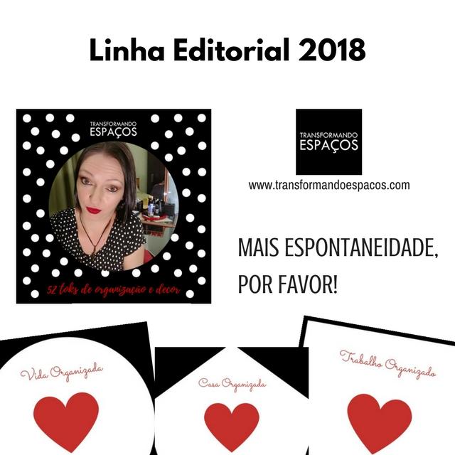 Introdução a Linha Editorial TE 2018 - Mais espontaneidade, por favor!