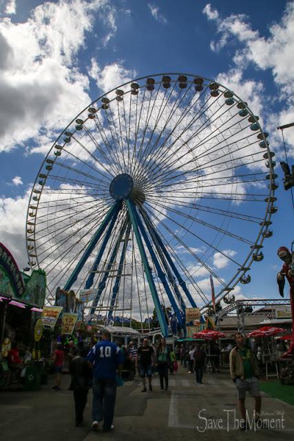 Riesenrad Kreuznacher Jahrmarkt