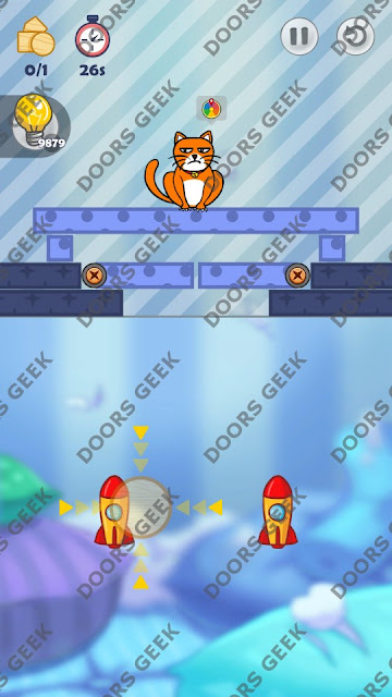 Hello Cats Level 49 Solution, Cheats, Walkthrough 3 Stars for Android and iOS