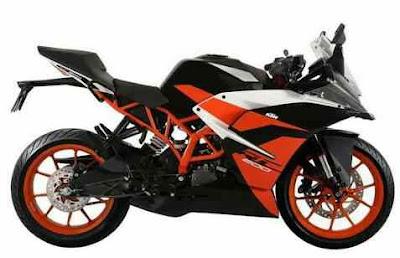 New KTM RC200 2019