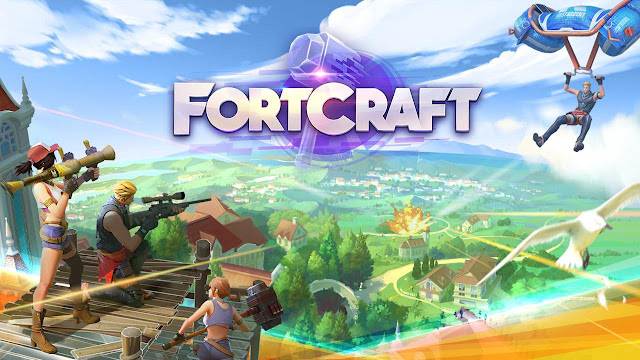 FortCraft: A Sandbox Survival Game on Mobile Apk Data Obb