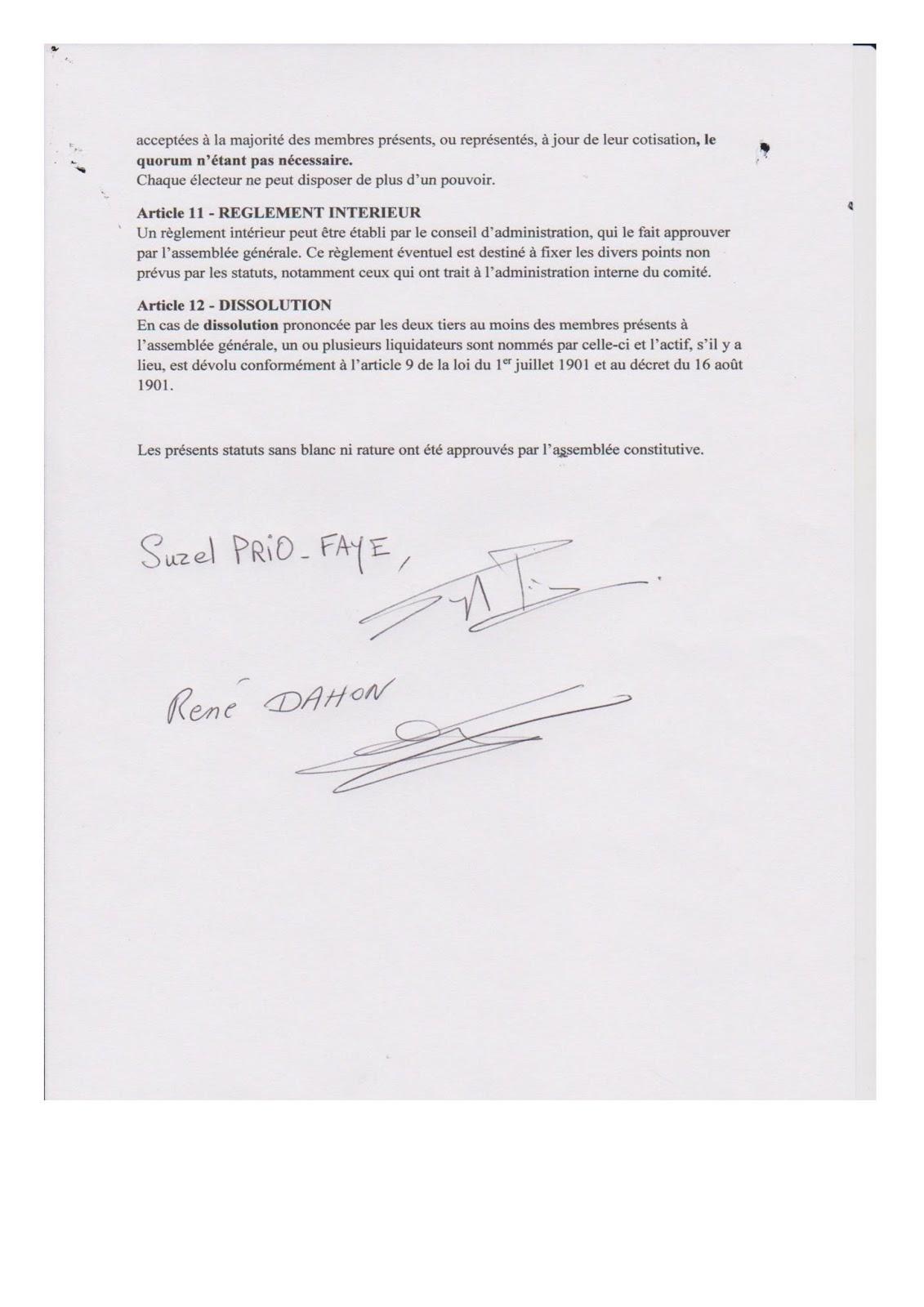Nice Cuneo Ventimiglia Statuts Et Declaration De L Association