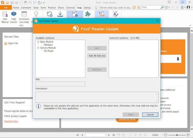تحميل برنامج Foxit Reader لتحرير ملفات PDF للويندوز
