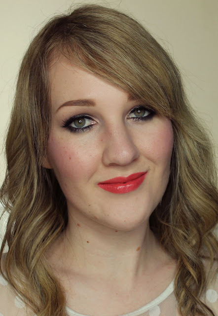 Clinique Long Last Lipstick - Runway Coral Swatches & Review