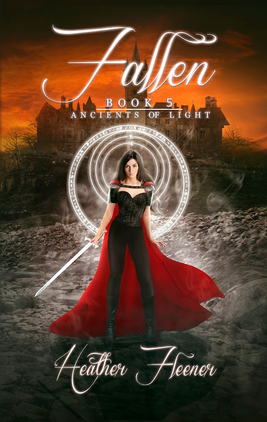 Cover Reveal For Fallen, Ancients of Light #5 By Heather Fleener