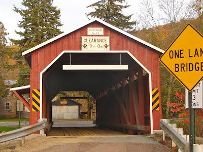 Patterson Covered Bridge in Columbia County Pennsylvania