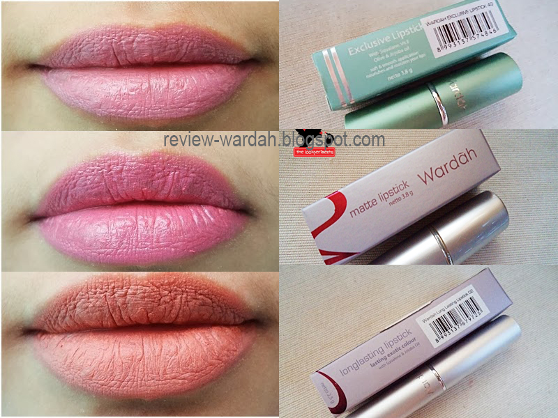 Review Wardah Lipstick: Matte - Exclusive - Longlasting