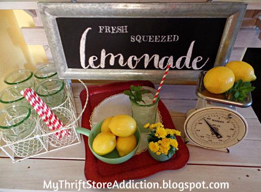 Lemonade serving stand