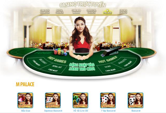 sản phẩm casino uy tín fun88