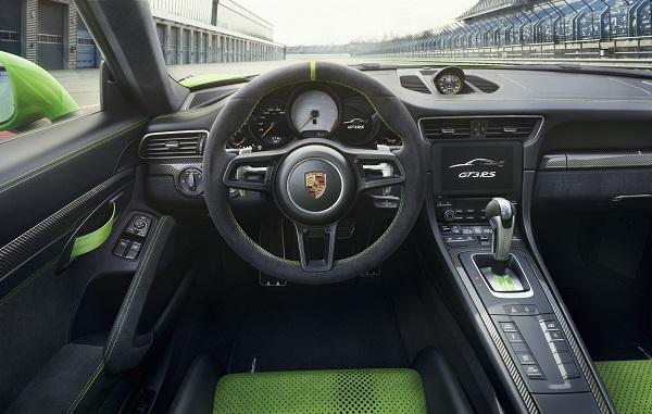 Interior Porsche 911 GT3 RS (2018)