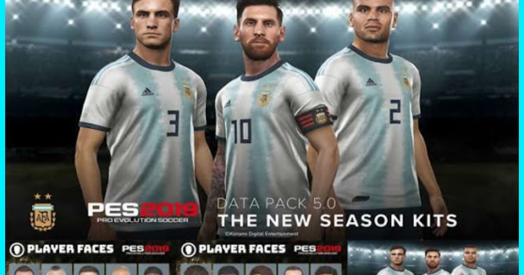 PES 2019 Data Pack 1 0 - 5 0 For CPY Version
