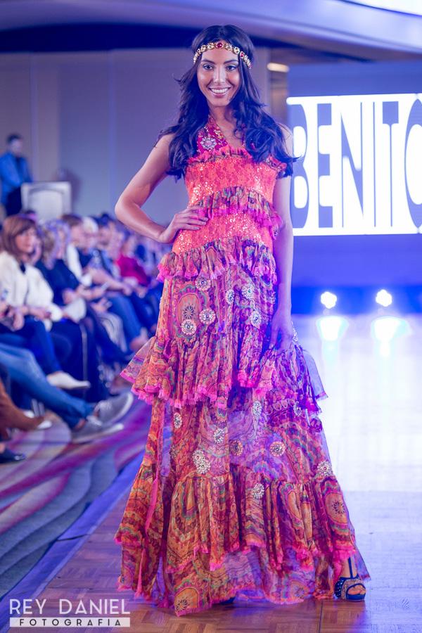 Moda primavera verano 2017 vestidos Benito Fernandez. Moda 2017.