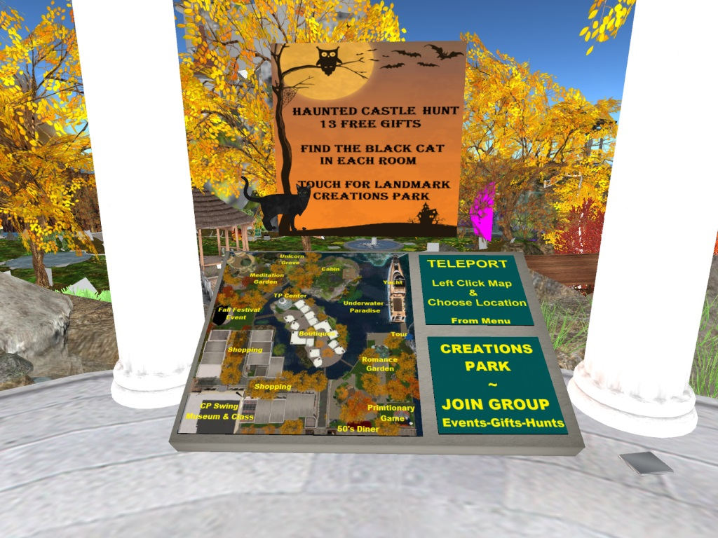 sl newser - events: halloweentown and creation's halloween festival