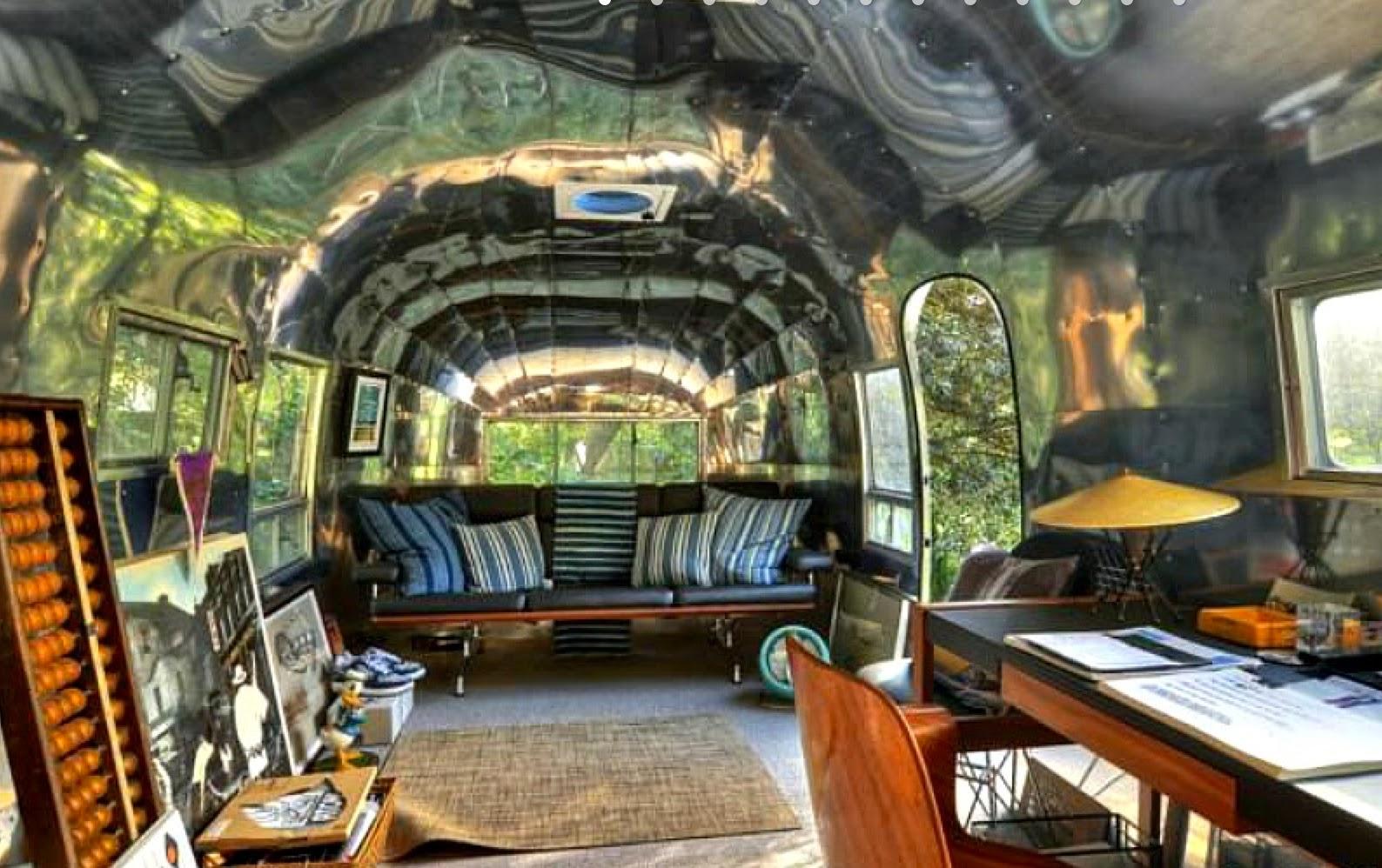 Shedworking Airstream Garden Office