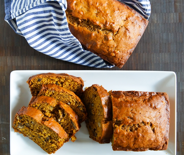 Pumpkin Banana Bread, recipe for The Pioneer Woman Food & Friends