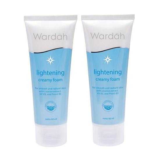 Review dan harga Wardah facial creamy foam
