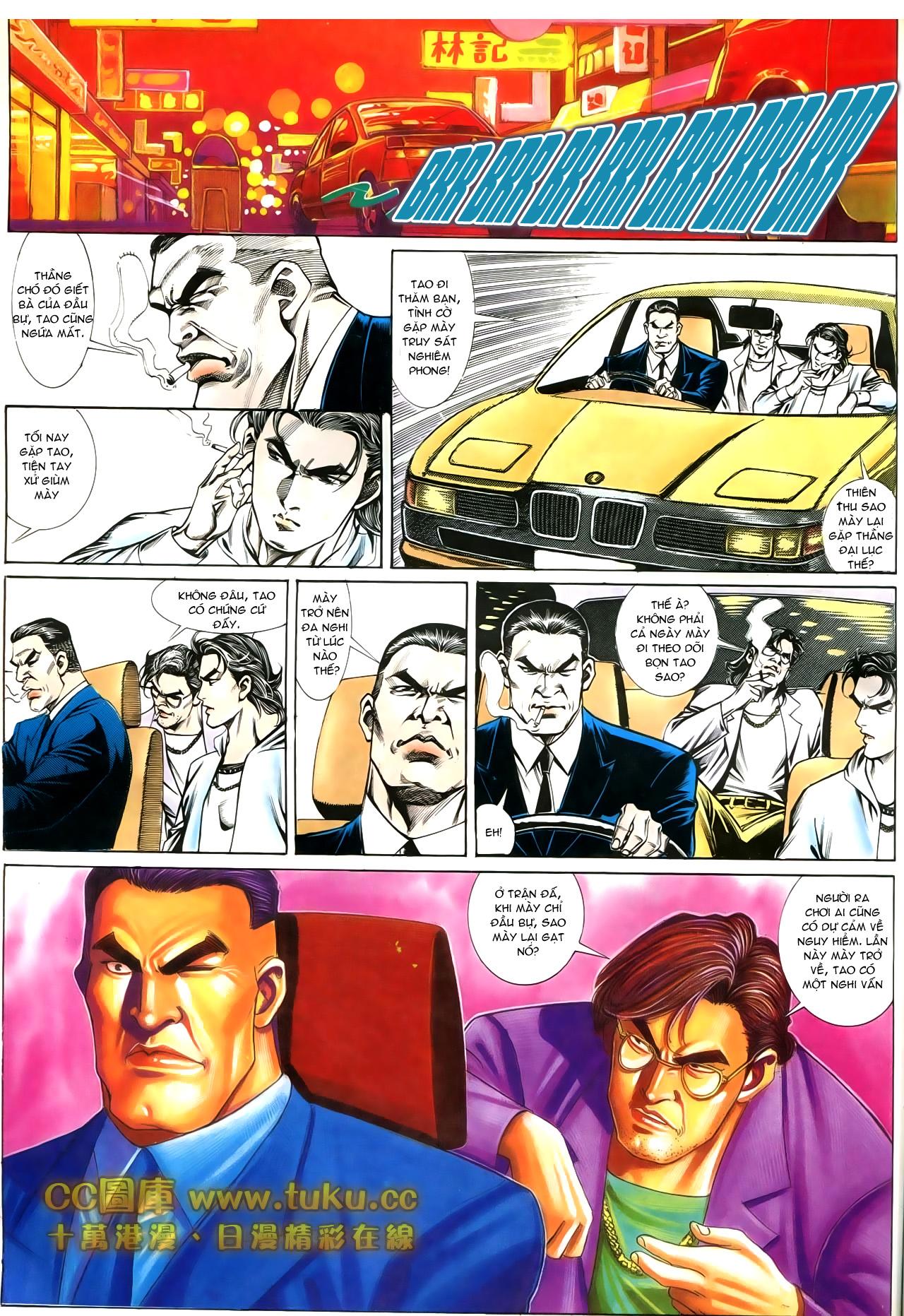 Người Trong Giang Hồ chapter 197: quạ đen báo thù trang 19