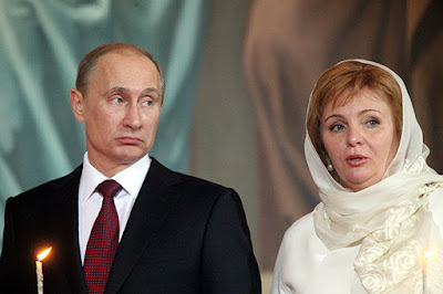vladimir putin family photos