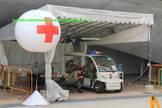 Medic centre, SG50 NDP, Marina Bay, Singapore