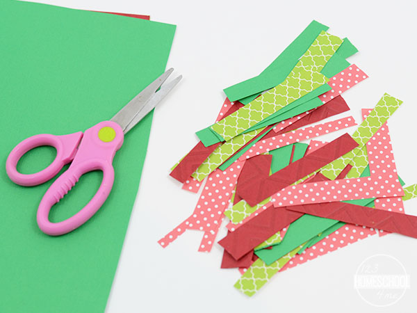 how to cut strips of paper fast