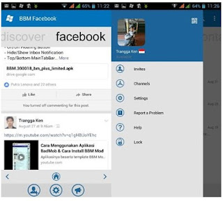 BBM Windows Phone Facebook - Based Official V3.0.1.25 Apk Terbaru