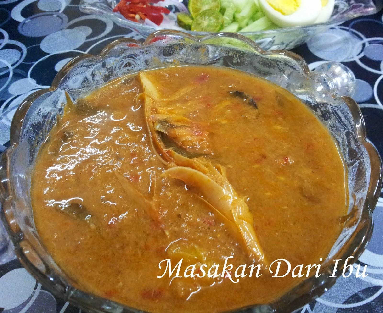 Masakan Dari Ibu: Laksa Ikan Sardin