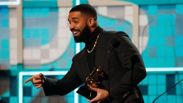2019 Grammys: Twitter on 'fire' over Drake's acceptance speech