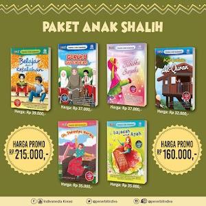 Promo Buku Anak: Paket Anak Shalih