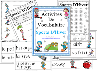 https://www.teacherspayteachers.com/Product/French-Vocabulary-Activities-Winter-Sports-1038574?utm_source=www.classroomfreebies.com&utm_campaign=French%20Winter%20Sports%20post%20CF