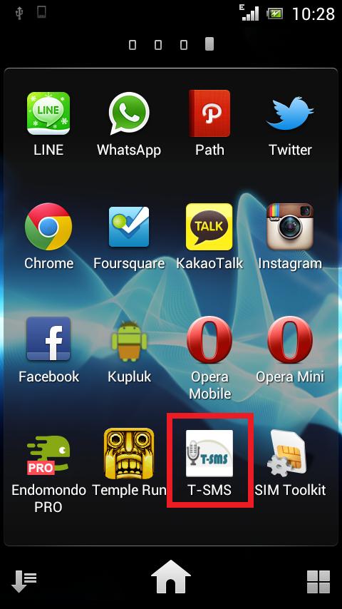 T-SMS | Aplikasi SMS untuk Tunanetra Berbahasa Indonesia | Android