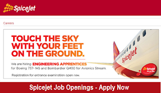 MBA Jobs 2017 at Spicejet