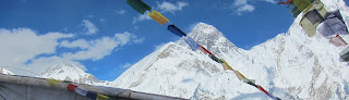 Everest Base Camp in Nepal means to show all people highest peak of Nepal.