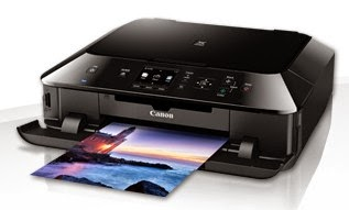 with a sensible chassis and lots of connectivity options  Canon Pixma MG5450 Printer Download