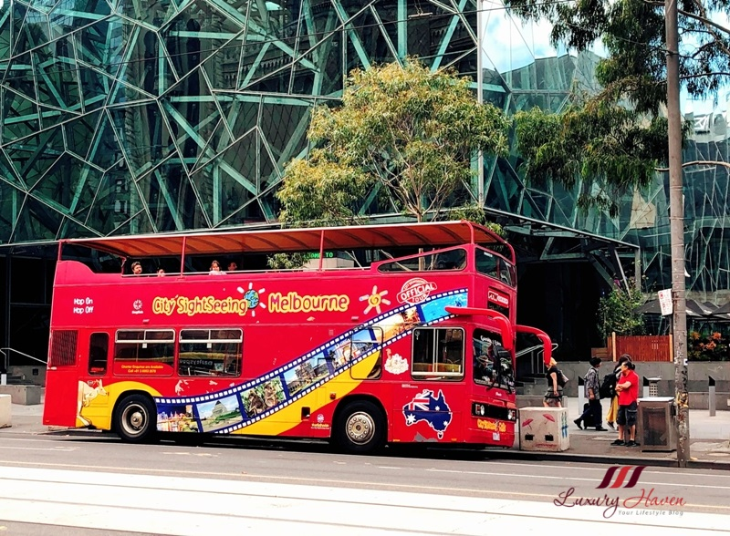 melbourne hop on hop off sightseeing bus review