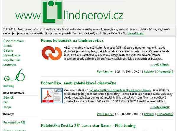 site lindnerovi.cz