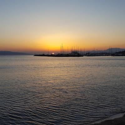 Αίγινα-Ηλιοβασίλεμα