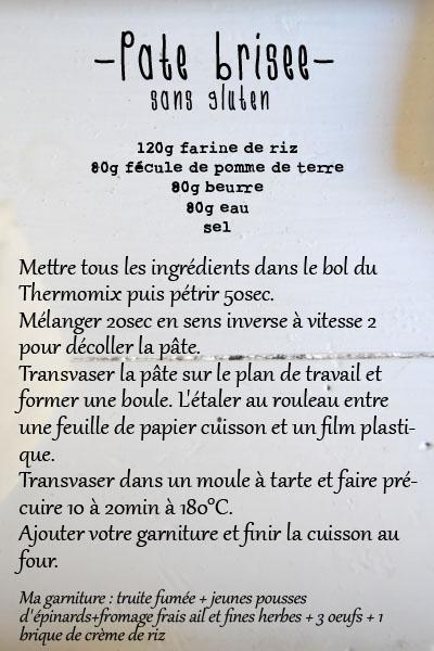 recette pate brisee sans gluten thermomix blog spoonencore