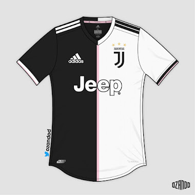 834ad5d52 Juventus 19-20 Home Kit Concepts by OZANDO. Saturday, 20 October 201820  Oct. Following the leak of Juventus going with a new half-half design next  season, ...